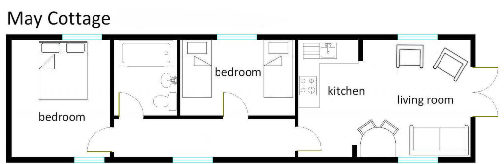 May Cottage Floor Plan